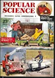 POPULAR SCIENCE Cadillac Roller Derby Model T Overhaul Chain Saw 3 1953