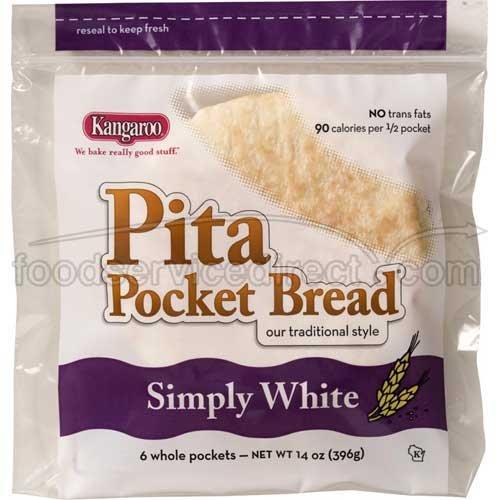 Kangaroo White Whole Pocket Bread product image