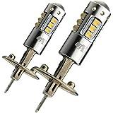 高爆光 80W LEDバルブ H1 CREEチップ採用 フォグランプ専用ランプ適合 ホワイト 6000K