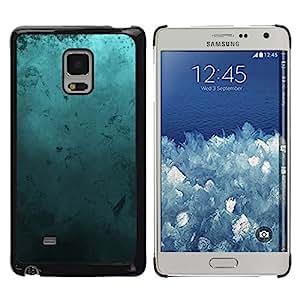 TECHCASE**Cubierta de la caja de protección la piel dura para el ** Samsung Galaxy Mega 5.8 9150 9152 ** Modern Art Random Blue Turquoise Ocean