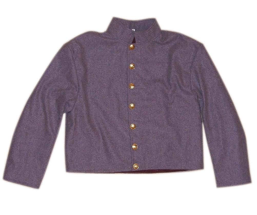 Amazon com: 10Code US Civil War Confederate Officer's Shell Jacket