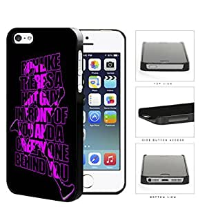 Run Like There's A Hot Guy Violet Hard Plastic Snap On Cell Phone Case Apple iPhone 5 5s