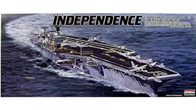 1/800 USS Aircraft Carrier Independence (Plastic model)