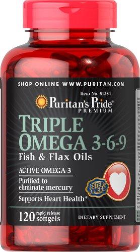 omega 3 6 9 120 softgels - 8