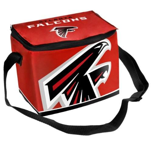 FOCO Atlanta Falcons Big Logo Team Lunch Bag - Falcons Youth Team Color