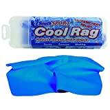 The Original Cooling Towel for Extreme Heat Relief (Blue) 27' by 17'