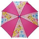 Disney Princess Stick Umbrella, 56 cm, Pink DPRIN005057