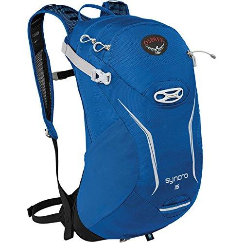 Osprey Packs Syncro 15 Hydration Pack, Blue Racer, Small/Medium (Xv Racer)