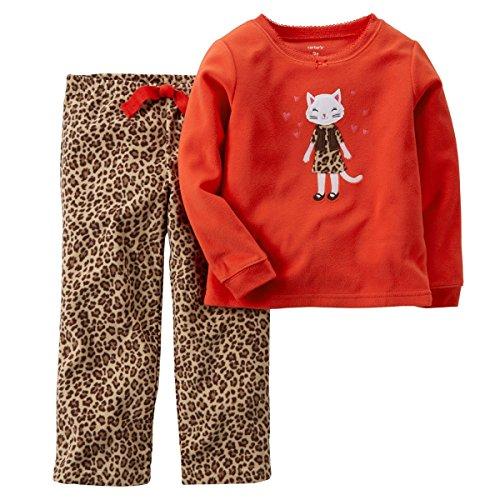 Carters Little 2 Piece Fleece Pajama