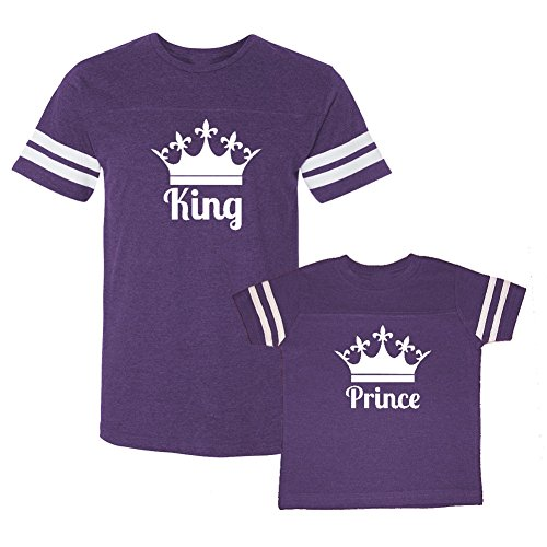 Son/Daughter of a King Couple Shirt (White) - 3