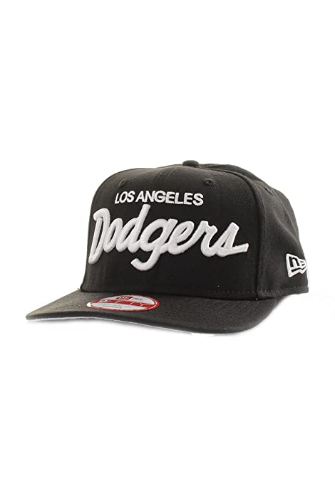 e0830b64c86 Image Unavailable. Image not available for. Color  New Era Los Angeles  Dodgers Vintage Script Compton Series Snapback 9Fifty ...