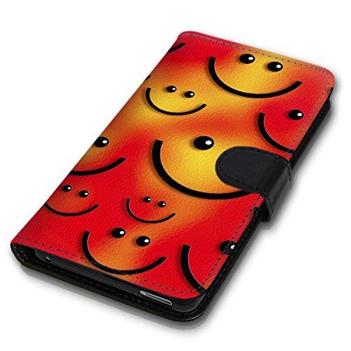 Wallet Book Style Flip Handy Tasche Case Schutz Hülle Schale Motiv Etui für Apple iPhone 4 / 4S - Design Flip MV97