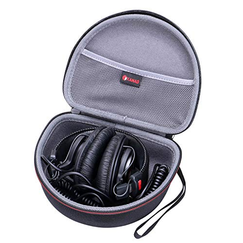 XANAD Hard Case for Sony MDRV6 Studio Monitor Headphones Storage Carrying Travel Bag