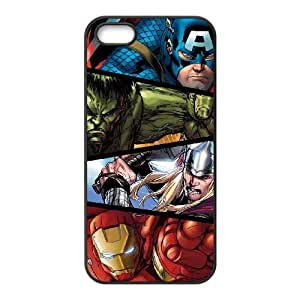 iPhone 5 5s Cell Phone Case Black Marvel comic VIU088348