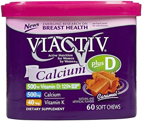Vitamins & Supplements: Viactiv Calcium Plus Soft Chews