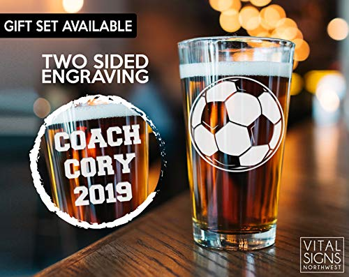 Soccer, Soccer Coach gifts, Soccer gifts, Coach Beer glass, Coach gift, Soccer Coach, Basketball coach, Football Coach, Baseball Coach, Gift for coach, Baseball,