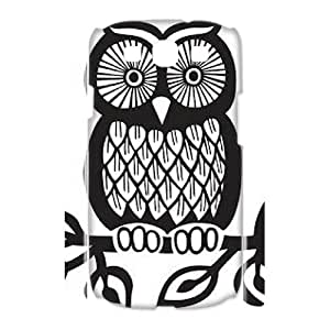 Personalized New Print Case for Samsung Galaxy S3 I9300 3D, Owl Phone Case - HL-713034