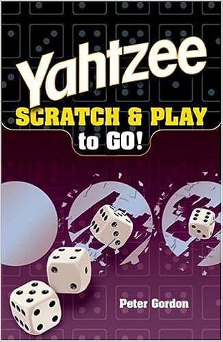 Book YAHTZEE Scratch & Play to Go!