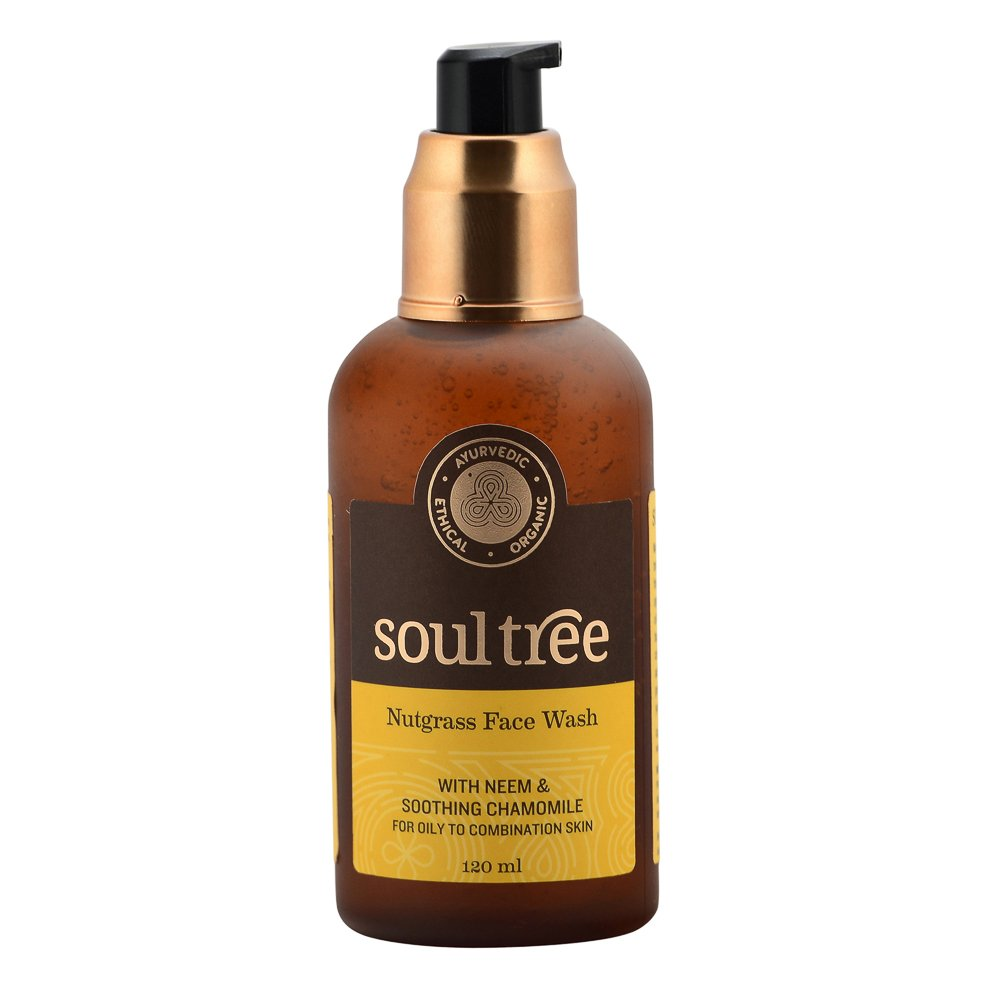 SOULTREE Nutgrass Face Wash, 222g