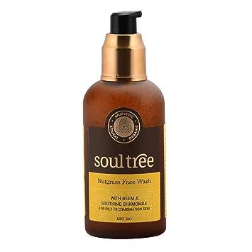 Sữa rửa mặt neem Soultree Nutgrass Face Wash - hebenastore - Soultree Nutgrass Face Wash