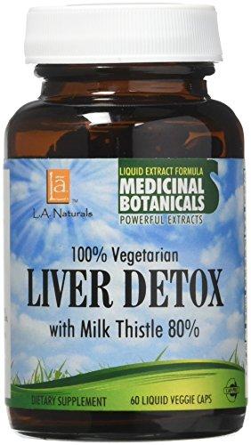 L A NATURALS Liver Detox 60 Vgc, 0.02 Pound