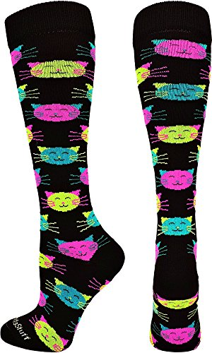 MadSportsStuff Good Kitty Athletic Socks