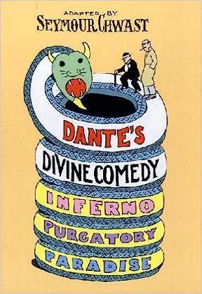 Dante's Divine Comedy: A Graphic Adaptation: Chwast, Seymour:  8601410317935: Amazon.com: Books
