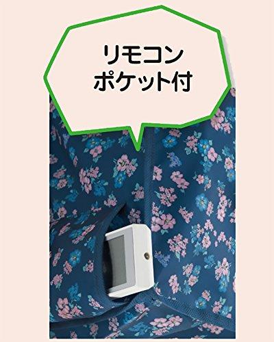 エアコン カバー 洗える ウォッシャブル ブルー 空調 清潔 幅 90 cm 縦 30 cm 奥行き 20 cm