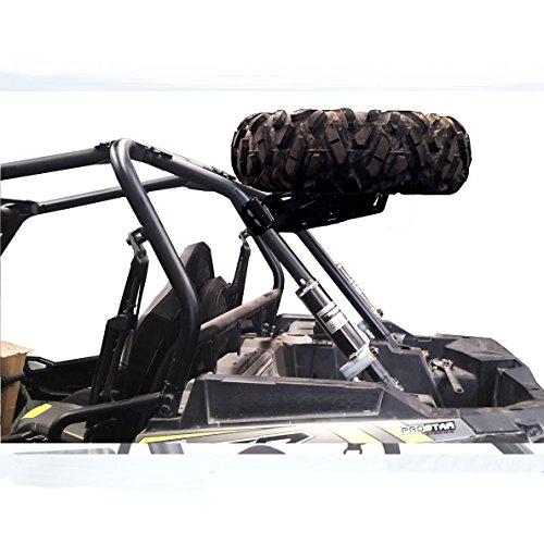 Spare Tire Carrier Polaris RZR XP 1000 & XP4 Tire Mount Black