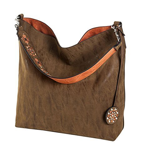Reversible Hobo Handbag - 6