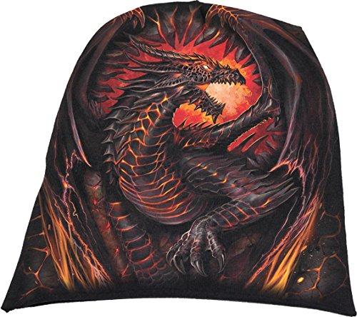 Spiral - Mens - Dragon Furnace - Light Cotton Beanies Black - L