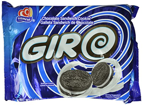 Price comparison product image Gamesa Giro Chocolate Sandwich Cookies,  10.6 Ounce