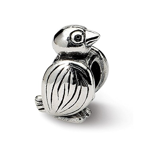 925 Sterling Silver Charm For Bracelet Bird Bead Animal Fine Jewelry Gifts For Women For Her