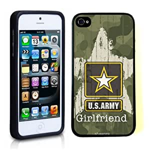 iPhone 5 5S Case ThinShell TPU Case Protective iPhone 5 5S Case Shawnex US Army Girlfriend Camo