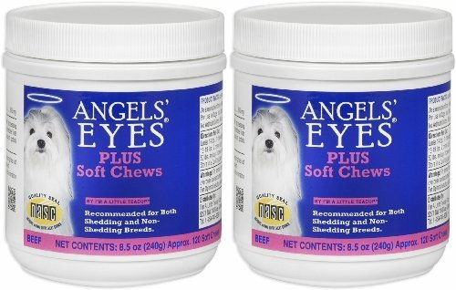 Angels' Eyes PLUS Tear Stain Remover Soft Chews Beef 240ct (2 x 120ct) by ANGELS' EYES