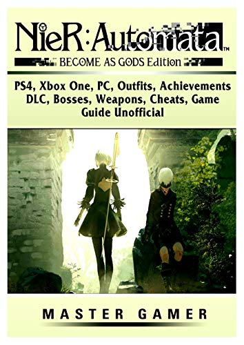 Automaton Costumes - Nier Automata Become as Gods, Ps4, Xbox One, Pc, Outfits, Achievements, DLC,