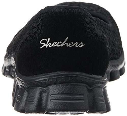 Skechers Ez Flex 2-Flightly - Zapatillas de deporte Mujer Negro (Bbk)