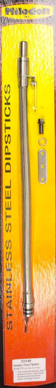 Milodon 22140 Stainless Steel Transmission Dipstick for Ford C4