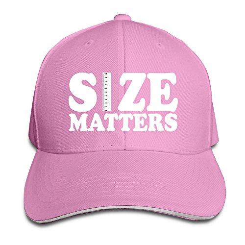 Runy Custom Size Matters Extender Rods Adjustable Sandwich Hunting Peak Hat & Cap Pink