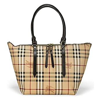 BURBERRY Shopping Bag Small Salisbury Beige  Amazon.co.uk  Shoes   Bags 63bfd14af0f8c