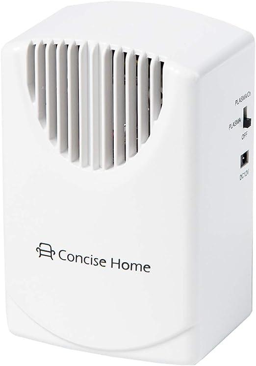Concise Home Purificador de Aire Plasma Generador De Ozono Ozono Purificador De Aire Esterilizador Desodorizante para Su Coche, Hotel, Dormitorio, Desinfección de Cocina, Reducción de Formaldehído: Amazon.es: Hogar