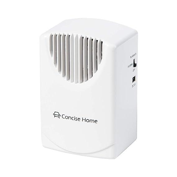 Concise Home Purificador de Aire Plasma Generador De Ozono Ozono Purificador De Aire Esterilizador Desodorizante para Su Coche, Hotel, Dormitorio, ...