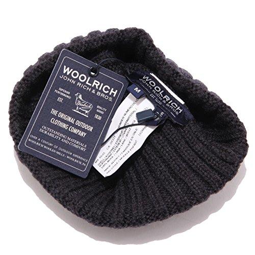 Woolrich Hat Lana Wool Scuro Bimbo Cuffia 0105w Dark Kid Grigio Beanie Boy Grey rFqAr