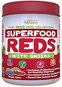 Superfoods Reds with Greens
