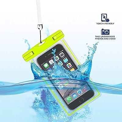 GH-GHawk Custodia Impermeabile Universale, Custodia Impermeabile per Telefono Impermeabile Custodia Impermeabile per Wiko Jerry 3, Custodia Morbida in TPU per Cellulare Fino a 6.5″