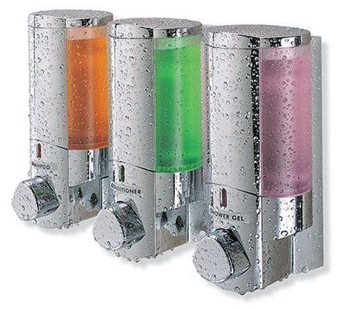 aviva-soap-shampoo-tub-bath-shower-quality-dispenser-triple-3-chambers