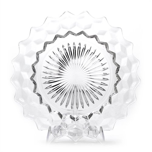 American by Fostoria, Glass Dinner Plate, Clear