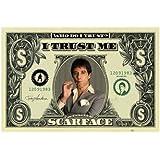 1art1 36660 Poster Scarface Billet d'un Dollar I 91 X 61 cm