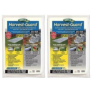 Gardeneer HG-25 5' X 25' Harvest-Guard Floating Garden Cover