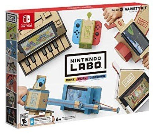 Nintendo Labo   Variety Kit Cardboard Diy Meterials